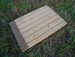 Planche volet bois 55,3 x 38,5cm Boisset-et-Gaujac (30)