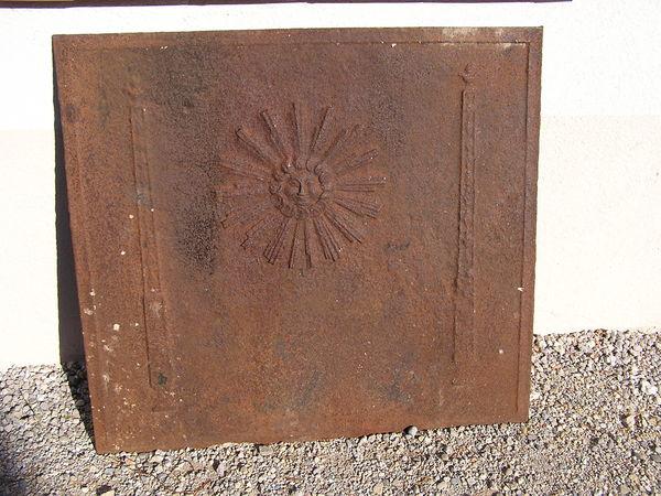 plaque de cheminée ancienne 0 Salernes (83)
