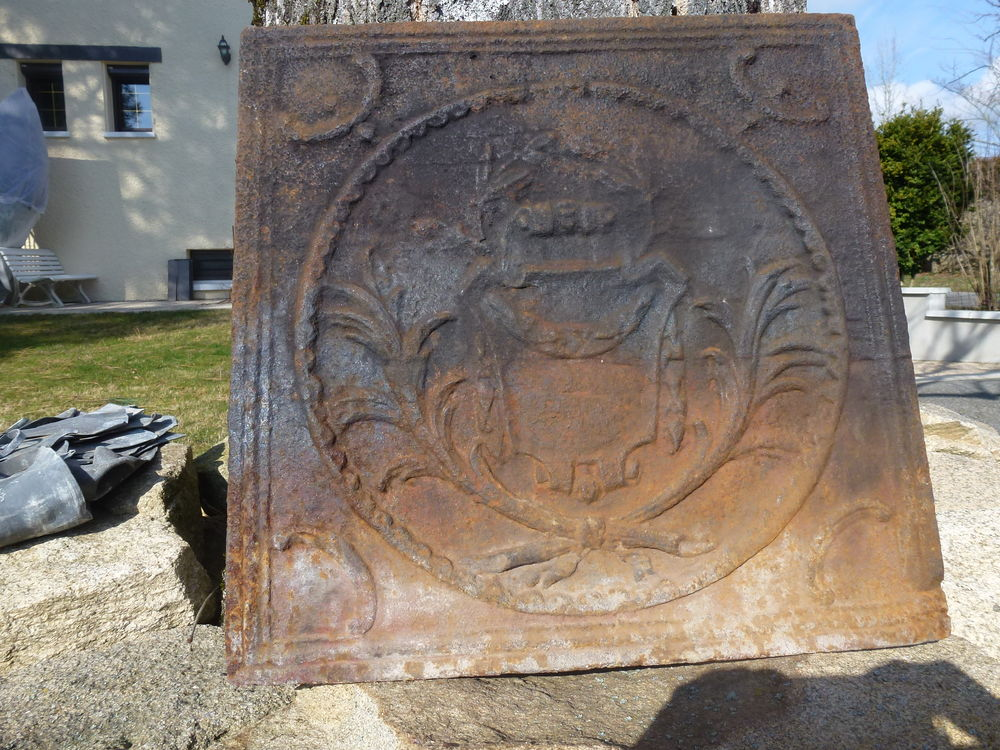 Plaque de cheminée fonte 30 Limoges (87)