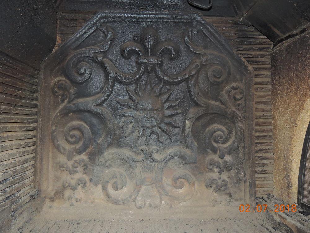 plaque de cheminée en fonte 30 Torcy (71)