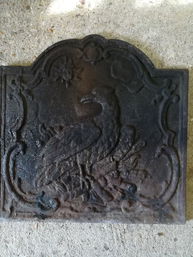 plaque de cheminée en fonte 200 Thomery (77)