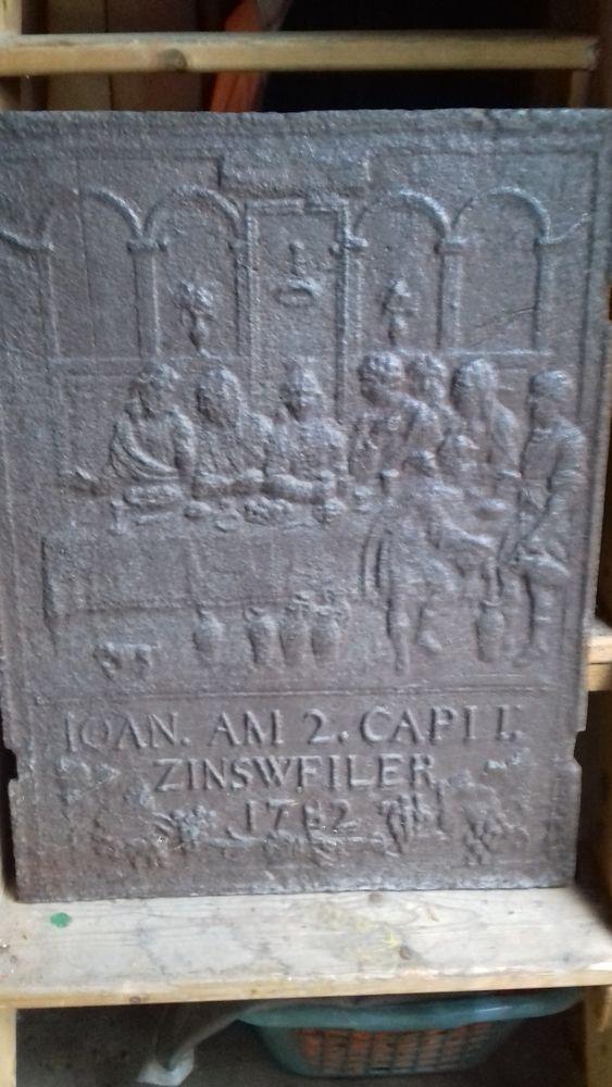 plaque de cheminée 100 Bray (71)