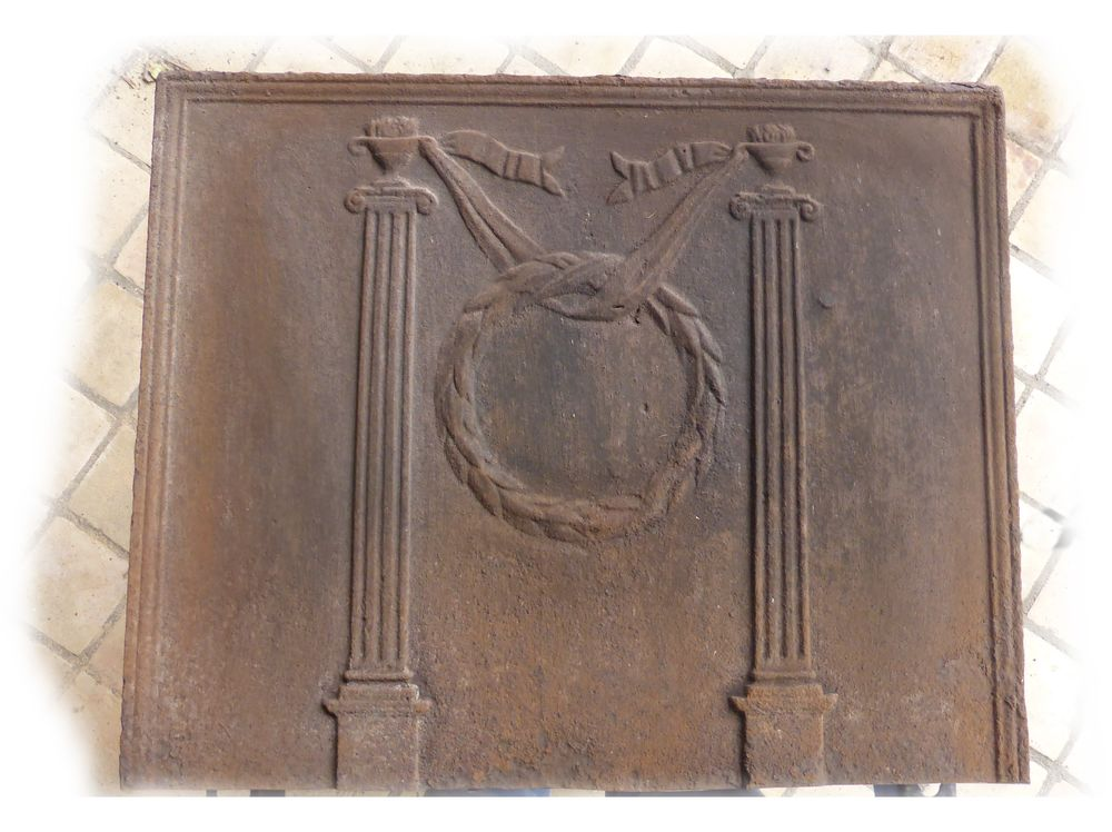 Plaque de cheminée 20 Feillens (01)