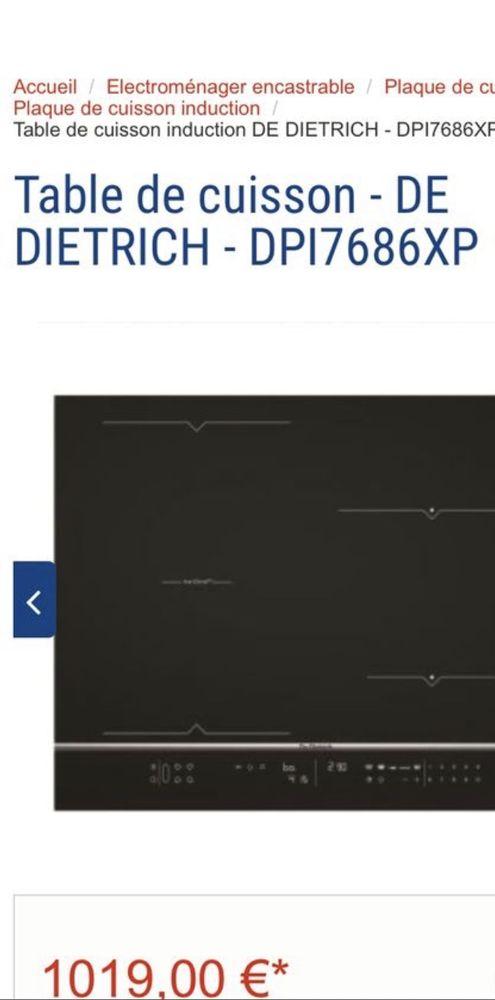 Plaque à induction  900 Lille (59)