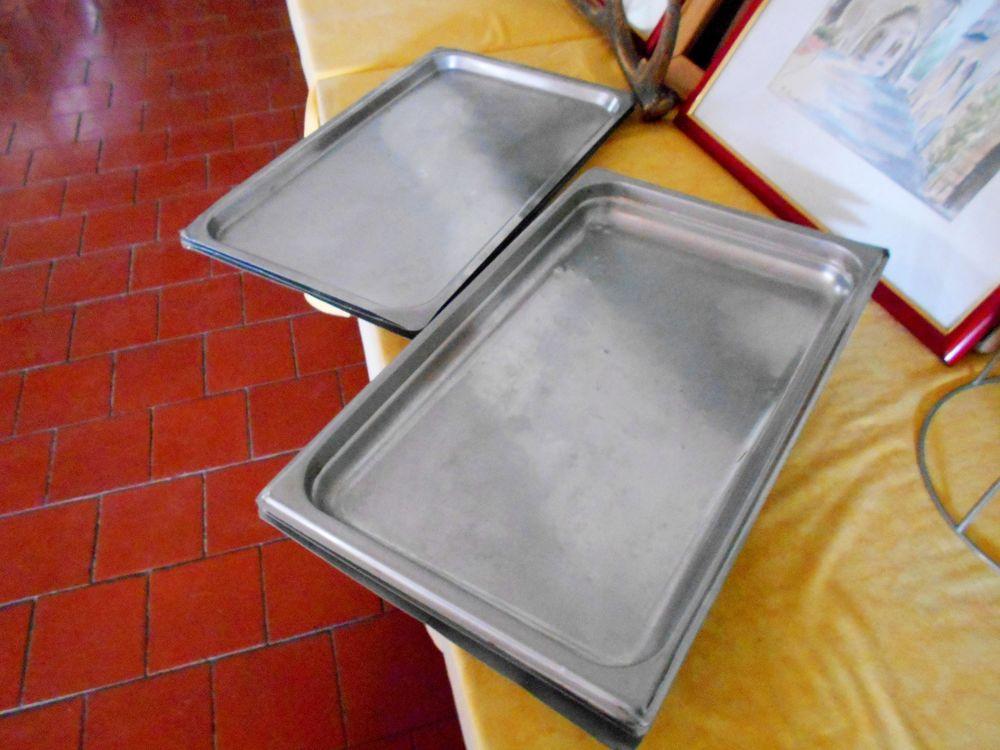Plaque inox gastro norme bonne qualité (l'unité) Cuisine