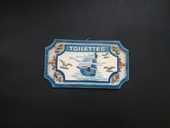 Plaque de porte WC 7 Barentin (76)