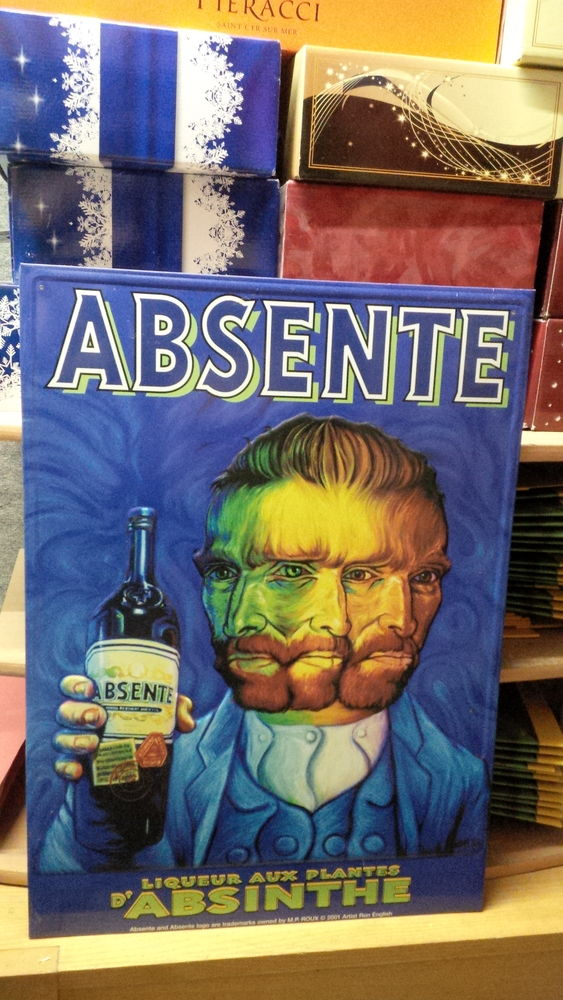 Plaque en tôle absente liqueur 35 Gardanne (13)