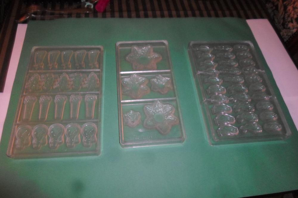 lot de 3 plaques moule a chocolat 45 Amélie-les-Bains-Palalda (66)