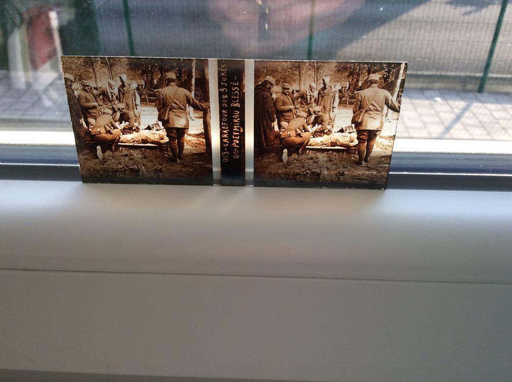 24 plaques de photos sur verre guerre 14/18 90 Lutterbach (68)