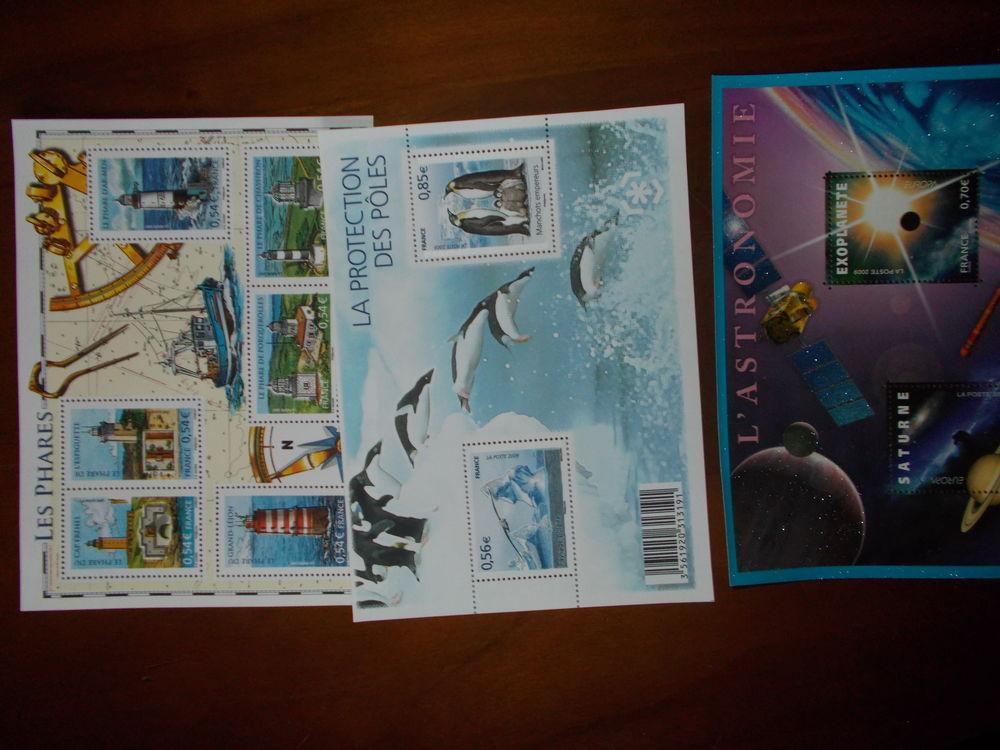 plaquettes de timbres différents thèmes 20 Chissey-en-Morvan (71)