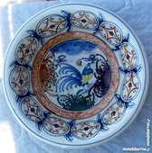 PLAT creux ou ASSIETTE signée O K N SKYROS 10 Montauban (82)