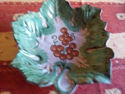 Plat creux en déco feuille vert 3 Saint-André-les-Vergers (10)