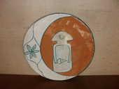 plat déco en poterie  10 Cournon-d'Auvergne (63)