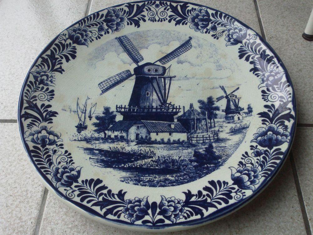 Plat faïence de Delft 39 Challans (85)