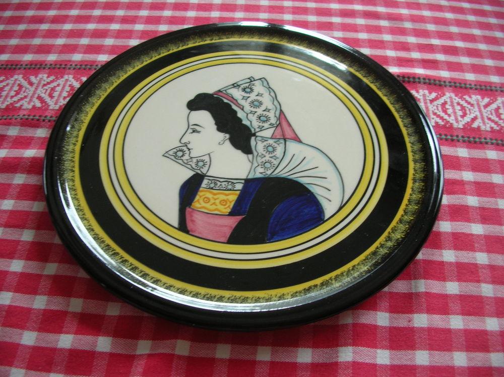 plat à gâteau HENRIOT QUIMPER 25 Pluzunet (22)
