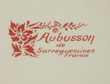 Plat plat ancien Sarreguemines Collection Aubusson - Vintage Décoration