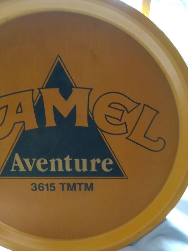Plateau Camel aventure, diamètre 45cm. Fond anti-derapant. 30 Antibes (06)