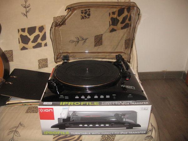 Platine IPROFILE pour graver les vieux vinyles 60 Tournemire (12)