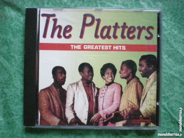 CD The Platters  « Greatest hits » 2 Saleilles (66)