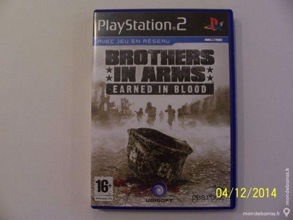 JEU DE PLAY 2 BROTHERS IN ARMS 16 ANS ET+++++++ Consoles et jeux vidéos