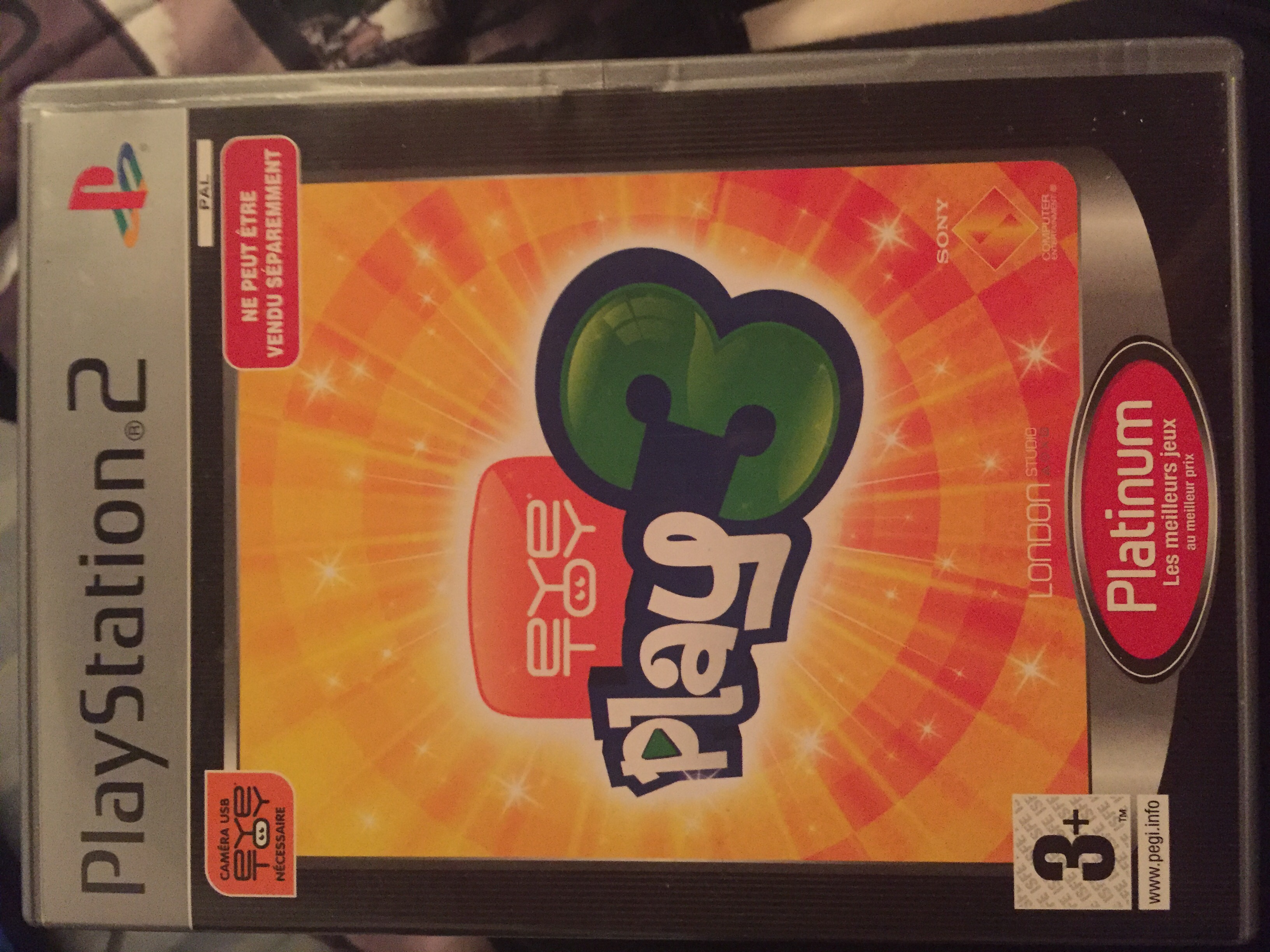 Jeu PS2 Eye Toy Play 3   Caméra 8 Alfortville (94)