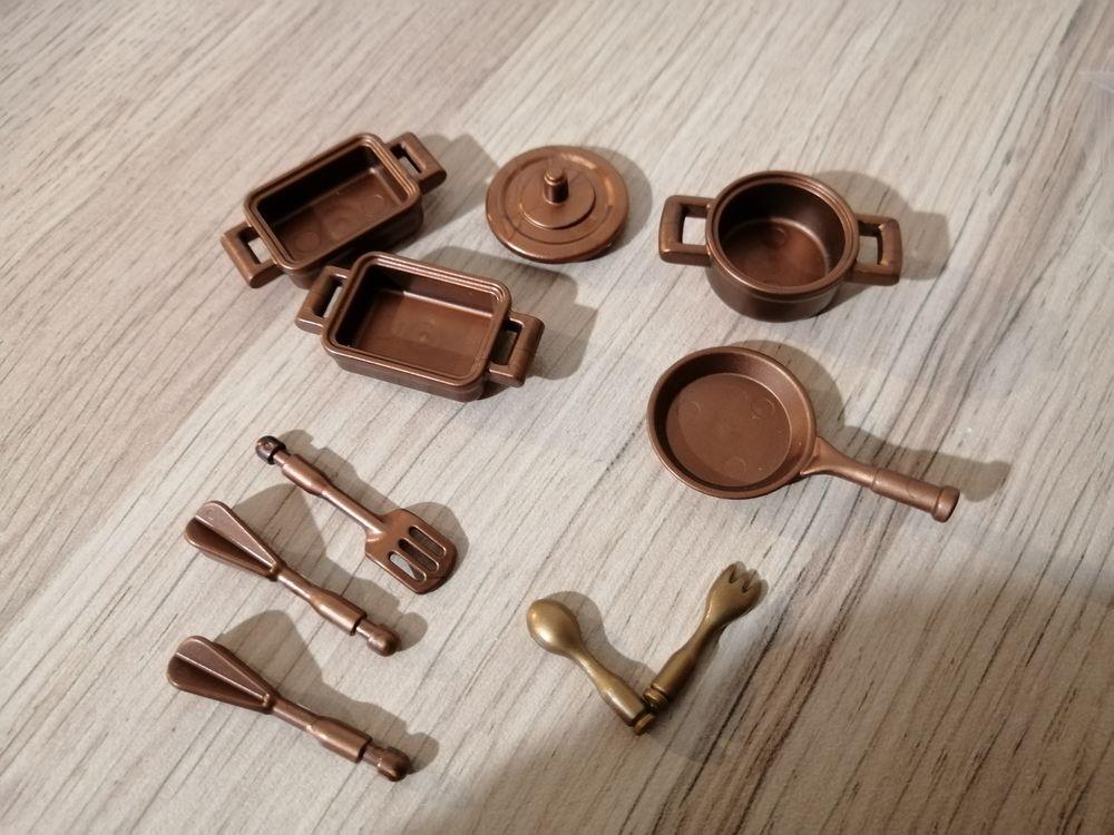 playmobil 1900 pièces détachées accessoires cuisine 2  Salon 4 Saint-Pierre-du-Mont (40)