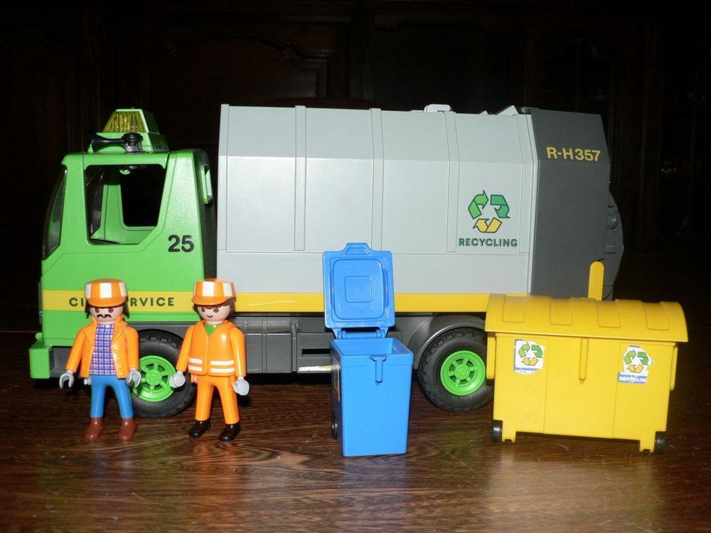 Playmobil 3121 Eboueurs / Camion ordures ménagères 12 Trilport (77)