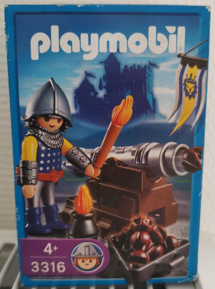 Playmobil 3316 Canonnier du Roi 5 Berck (62)