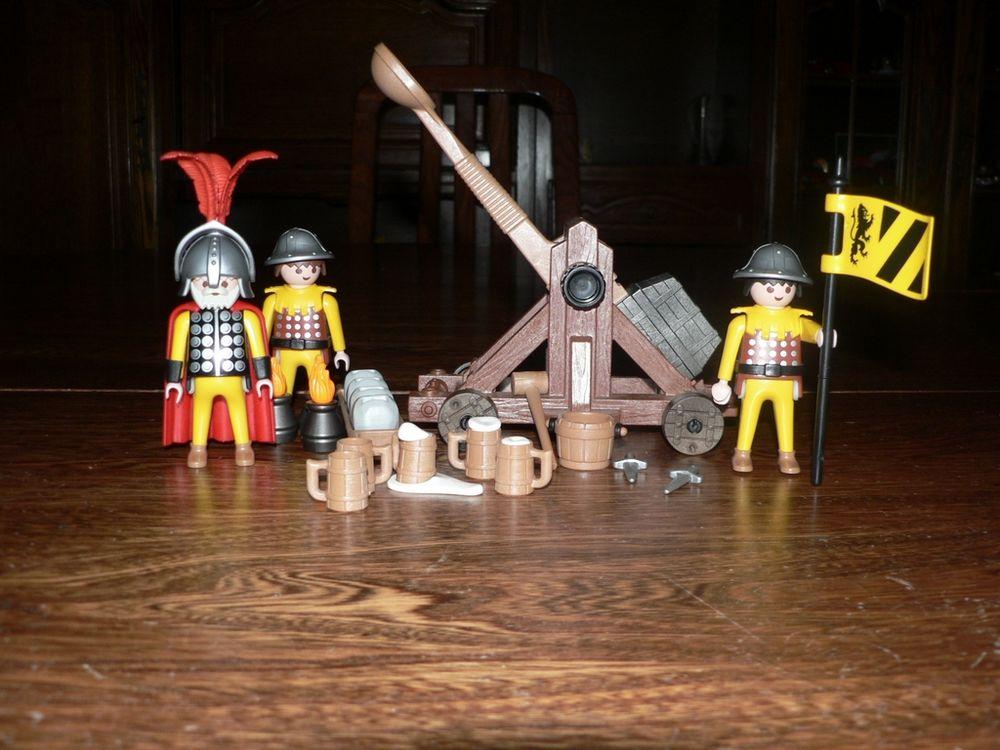 Playmobil 3653 Soldats / catapulte 10 Trilport (77)