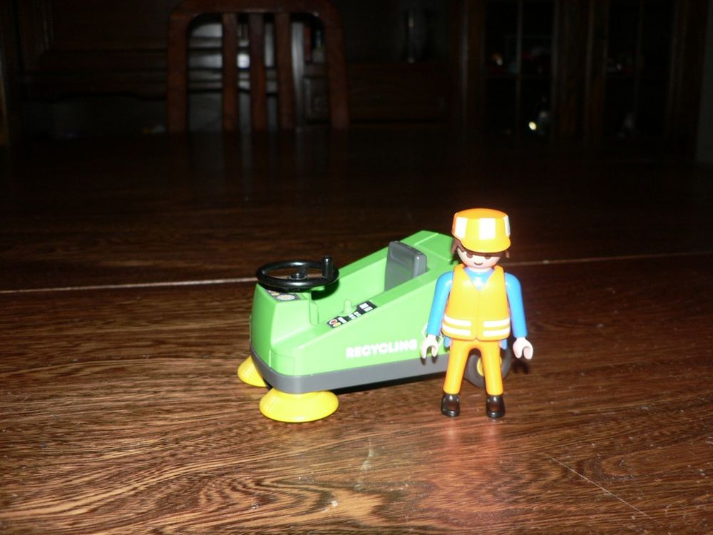 Playmobil 3790 Eboueur / Véhicule nettoyage 3 Trilport (77)
