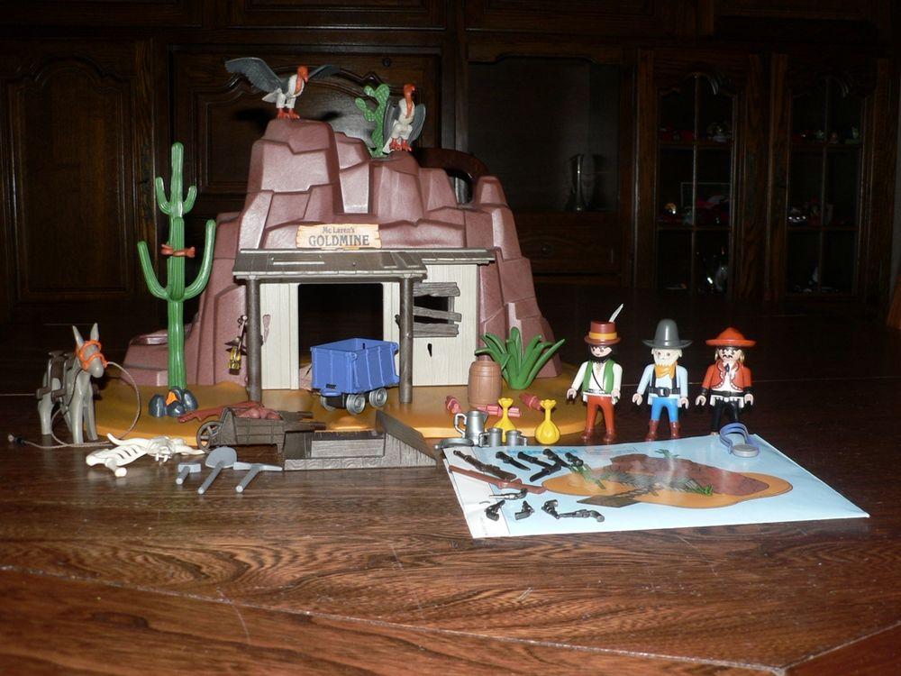 Playmobil 3802 Mine d'Or 30 Trilport (77)