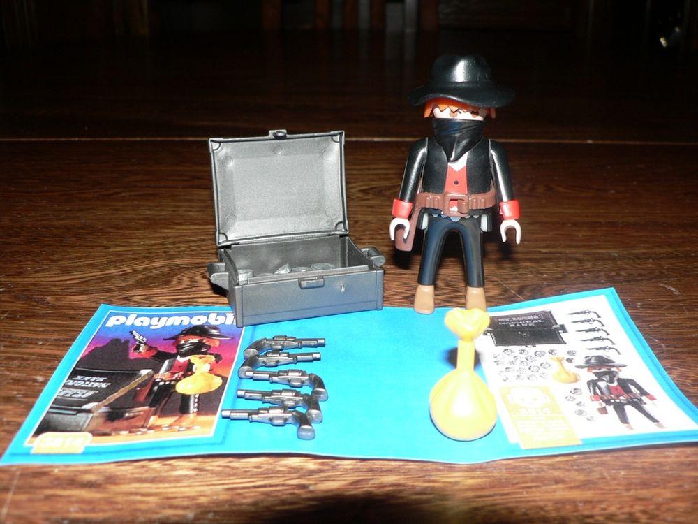 Playmobil 3814 Bandit Pilleur de banque 5 Trilport (77)