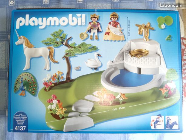 PLAYMOBIL : 4137 : FONTAINE ROYALE : NEUF 40 Limoges (87)