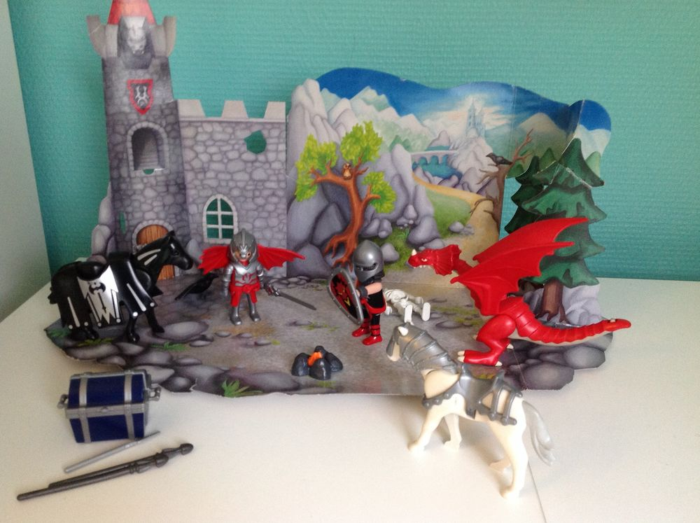 Playmobil 4160 Chevaliers et Dragons (calendrier de l'avent) 8 Sarreguemines (57)