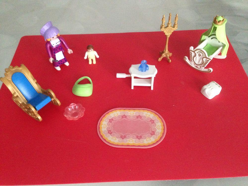 JEU PLAYMOBIL N° 4254; Chambre de bébé royale et sa nourrice 16 Saint-Vallier (71)