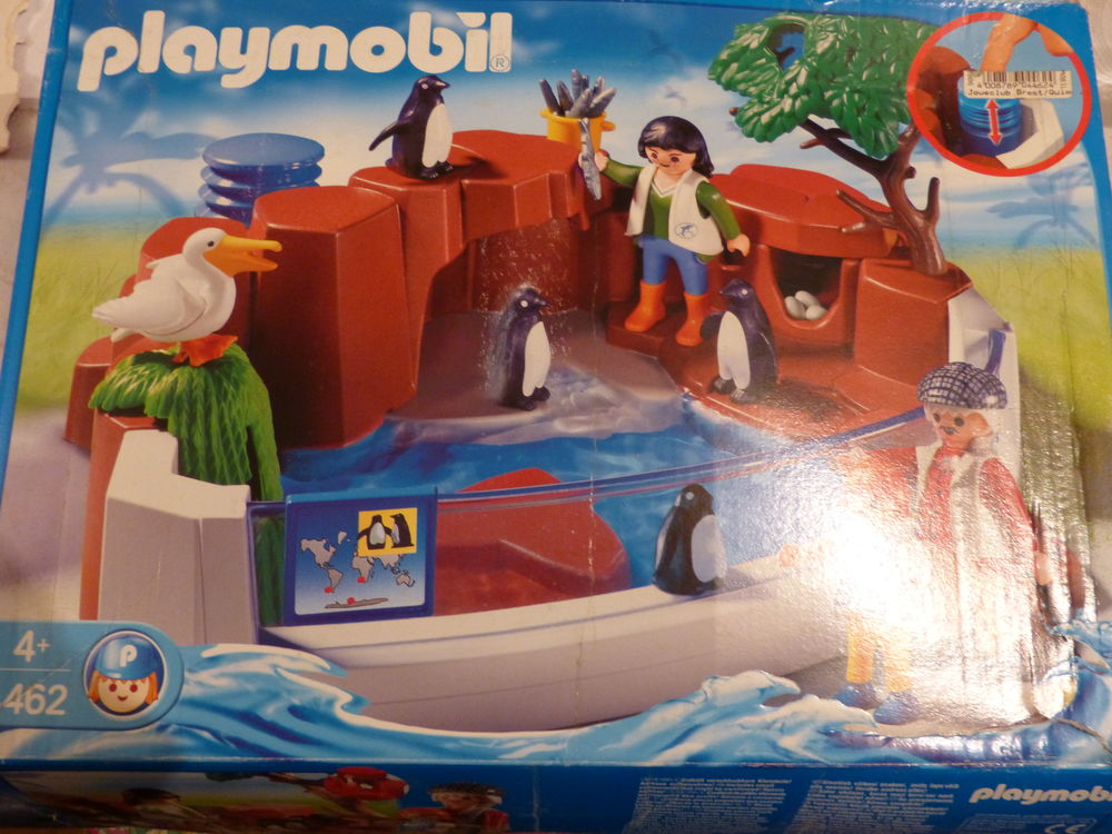 PLAYMOBIL 4462 PINGOUINS ZOO PELICAN ECT 14 Brest (29)