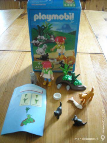 Playmobil 4493 - L'enfant et la famille de chats 7 Saint-Péray (07)