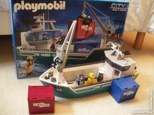 Playmobil - cargo avec grue de chargement 35 Fréthun (62)