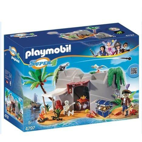 Playmobil Caverne des pirates Super4 4797 26 Fontenay-sous-Bois (94)