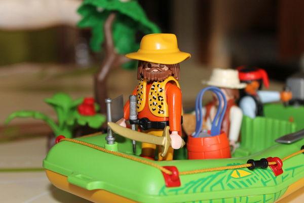 Playmobil Jungle 3042 - Les Pirates De La Riviere  15 La Sentinelle (59)