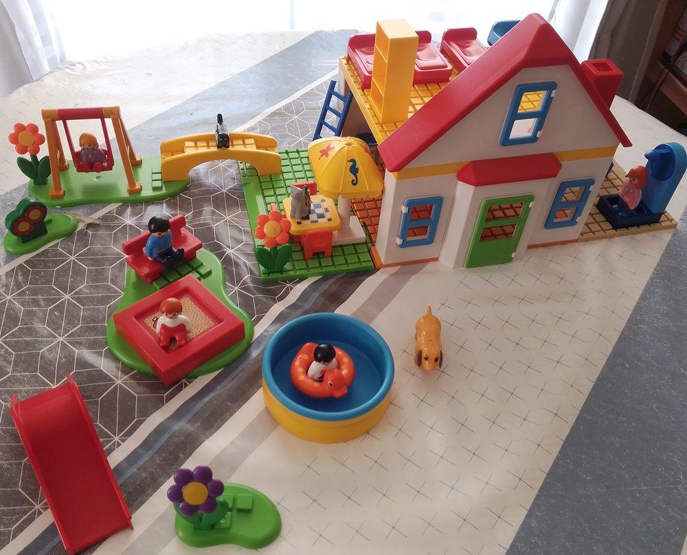 playmobil 123- maison et parc de jeux  35 Plaisir (78)