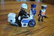 PLAYMOBIL LOT DE 3 POLICIERS ET MOTO Jeux / jouets