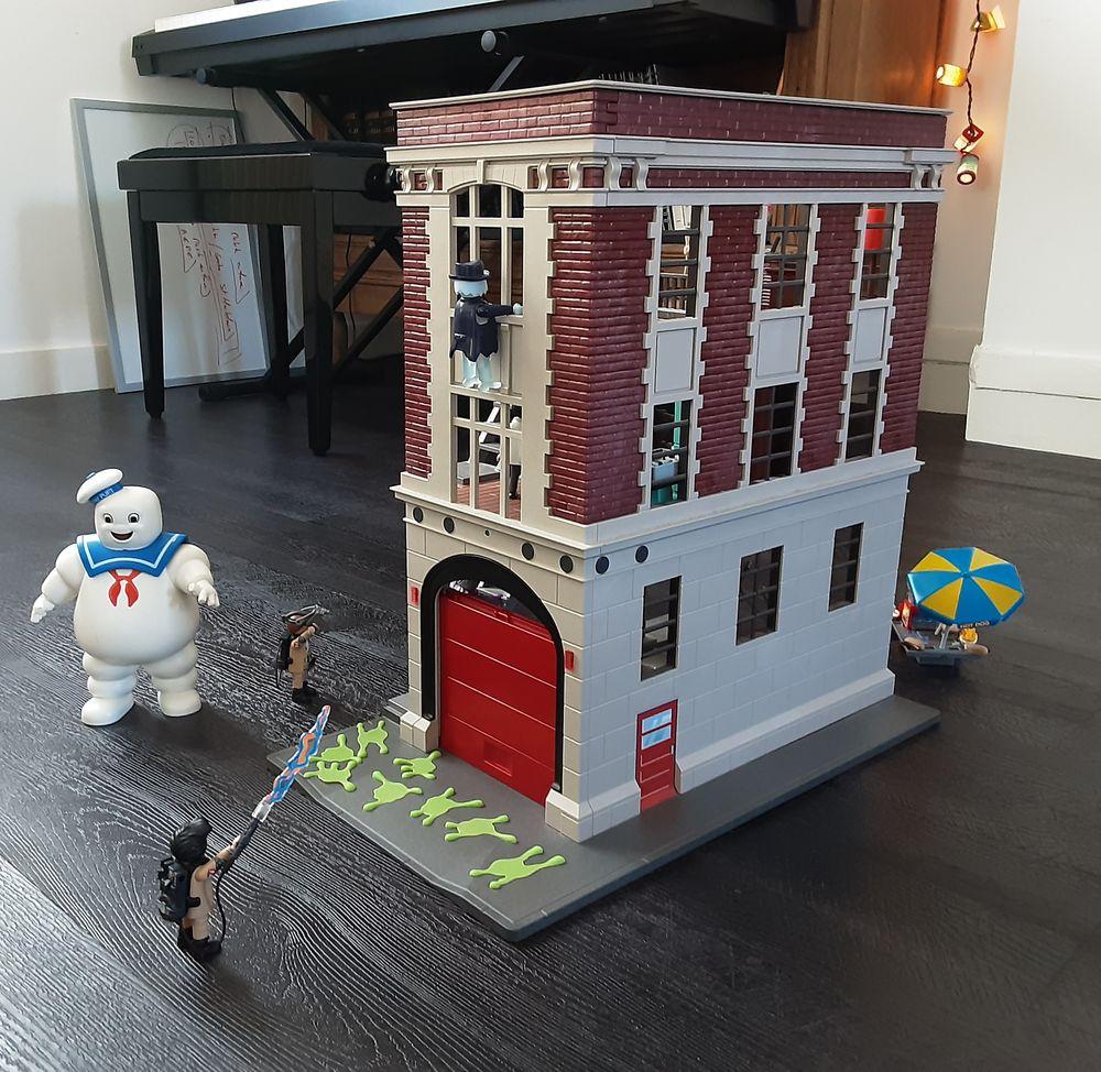 Playmobil Quartier Général Ghostbusters 9219 + PLAYMOBIL 92 60 Nantes (44)