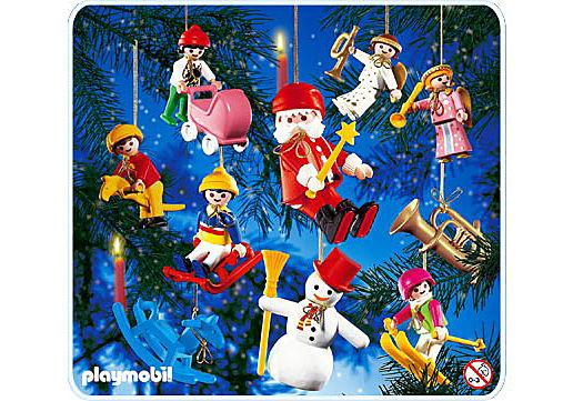 Playmobil 10 sujets de décoration arbre de Noel 3943 22 Fontenay-sous-Bois (94)