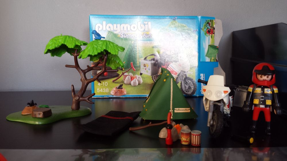 Playmobil tente motard  15 Annezin (62)