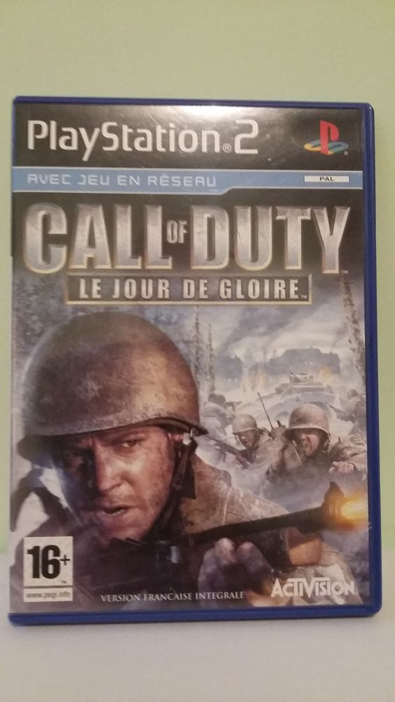 Jeu PlayStation 2 : Call of Duty 10 Limoges (87)