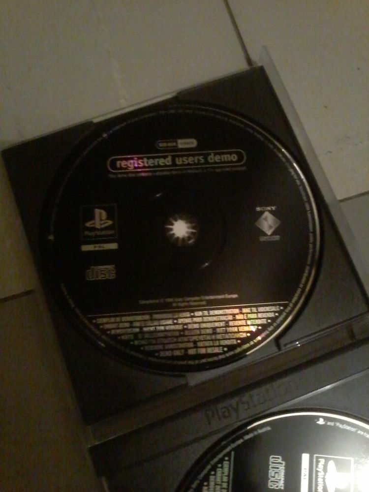 Jeu Playstation démo  10 Tourcoing (59)