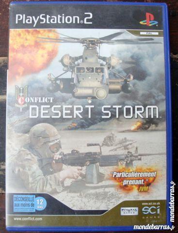 jeu Playstation 2 desert Storm 2 Villeneuve-d'Ascq (59)