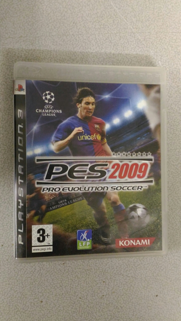 Jeu Playstation 3- PES2009 Pro Évolution Soccer 8 Épinay-sur-Orge (91)