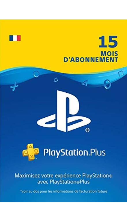 PS4 PSN PlayStation Plus: abonnement de 15 mois 50 Le Perreux-sur-Marne (94)